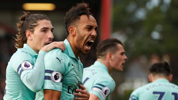 Bournemouth 1-2 Arsenal: Gunners win to move within a point of top four thumbnail