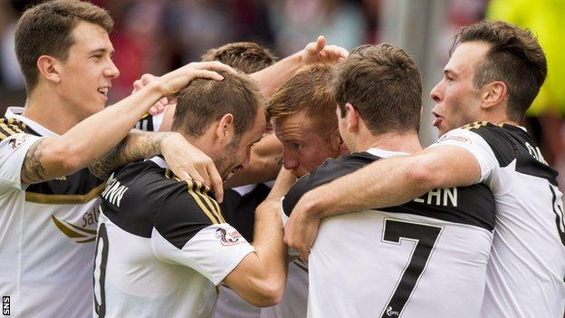 Aberdeen last started the season with five wins in 1984/85, the last time they won the league