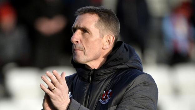Stephen Baxter: Crusaders boss named January's Manager of the Month