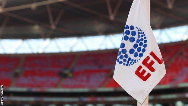 EFL corner flag