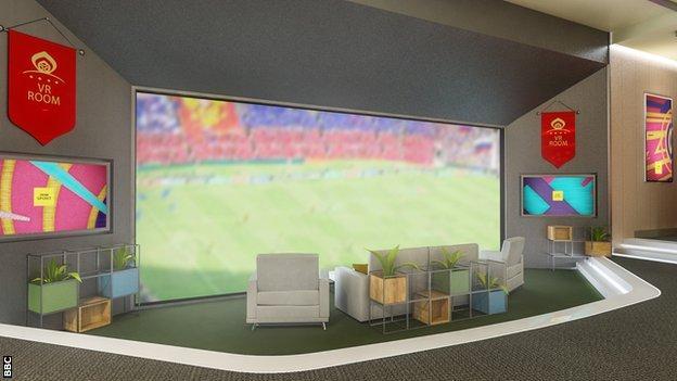 BBC Sport's virtual reality sofa
