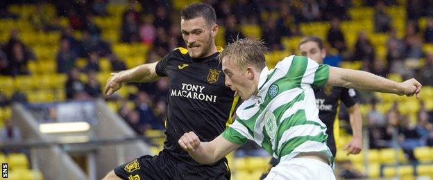 Livingston v Celtic Under-20s