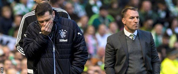 Graeme Murty and Brendan Rodgers