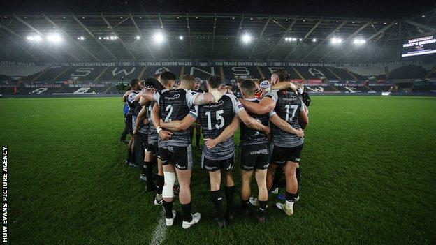 Ospreys only won two games in the 2019-20 season