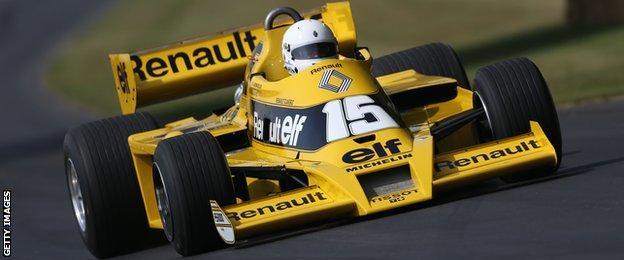 Lotus to Renault