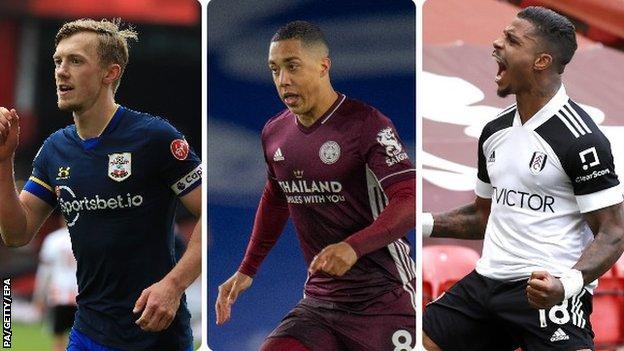 James Ward-Prowse (Southampton), Youri Tielemans (Leicester), Mario Lemina (Fulham)
