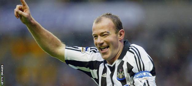Alan Shearer scored 112 goals in 138 Premier League games for Blackburn, winning the 1994-95 title, before becoming Newcastle's record signing and record goalscorer