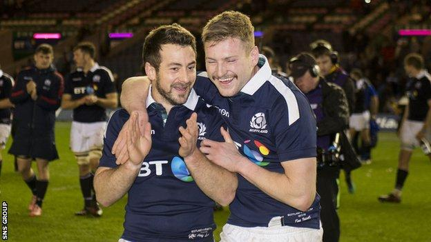 Scotland will be without overseas-based players like Greig Laidlaw and Finn Russell in Wales