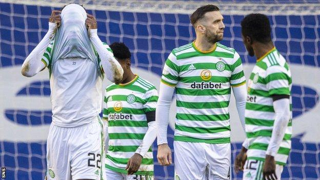 Celtic have lost both previous meetings with Rangers this season