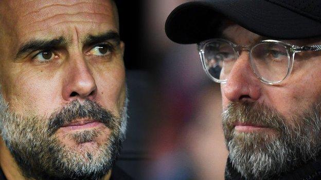 Pep Guardiola ve Jurgen Klopp