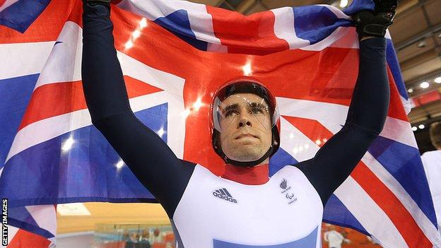 Cyclist Neil Fachie is set to compete at his fourth Paralympic Games this summer