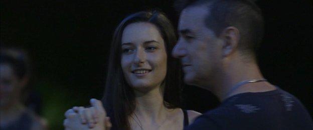 Sian Kelly dancing tango