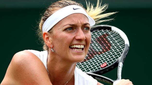Wimbledon 2019: Petra Kvitova beats Magda Linette to reach fourth round thumbnail