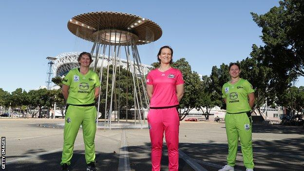 Big Bash players at Olympic Village