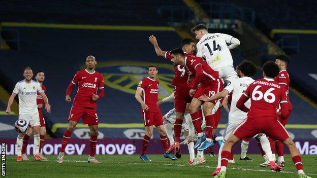 Leeds United 1-1 Liverpool: Diego Llorente denies Reds place in top four thumbnail