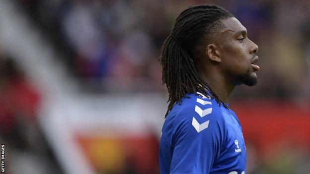 Nigeria and Everton forward Alex Iwobi