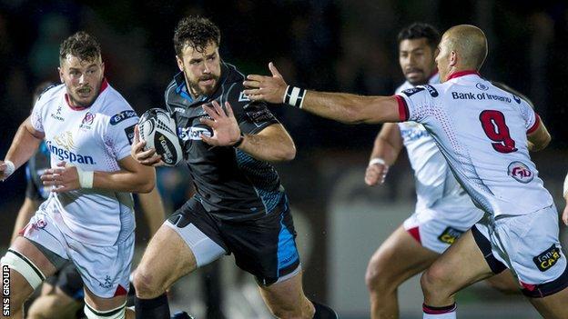 Alex Dunbar returns from injury to start for Glasgow