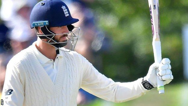 James Vince reaches 50 for England against New Zealand at Christchurch