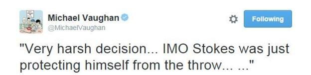 Michael Vaughan Twitter