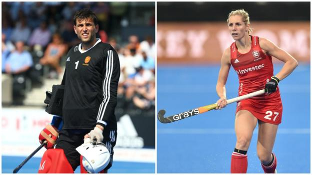 Is this the busiest couple in sport? GB hockey's Hunter and Pinner on Pro League travels thumbnail