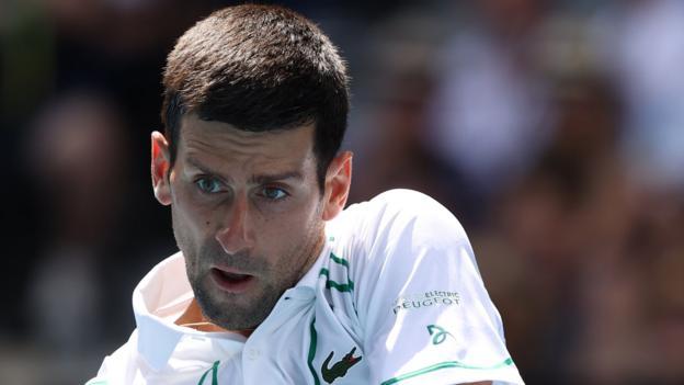 Australian Open: Novak Djokovic to face Milos Raonic in quarter-finals thumbnail