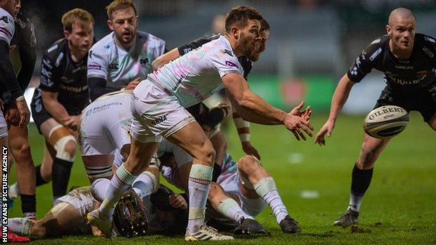 Rhys Webb has won 36 Wales caps and two Tests for the British and Irish Lions