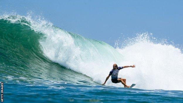 Australian surfer Owen Wright