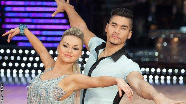 Louis Smith on the Strictly Come Dancing live tour in 2013