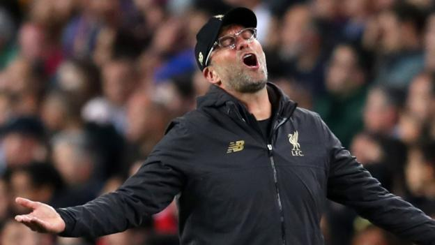 Barcelona 3-0 Liverpool: Jurgen Klopp says Reds produced 'best away game for two seasons' thumbnail