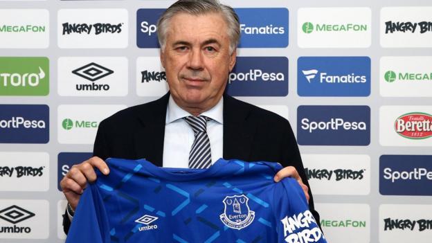 Carlo Ancelotti: Everton job