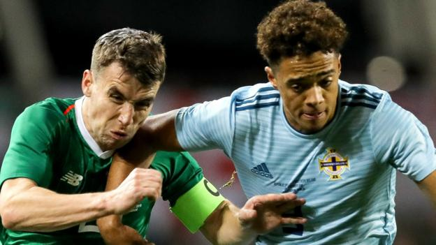 Rep of Ireland 0-0 N Ireland: Low-key Dublin friendly ends in stalemate
