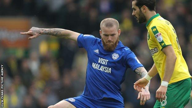 Iceland midfielder Aron Gunnarsson was part of the Cardiff side that last played in the Premier League