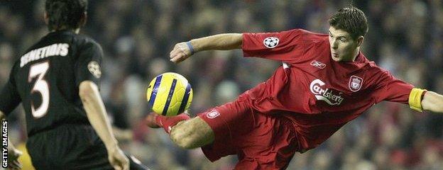 Gerrard v Olympiakos