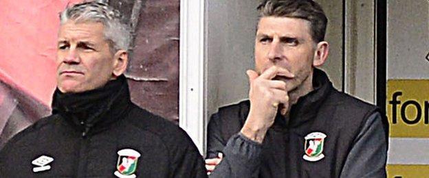 Smyth and Leeman both enjoyed success at the Oval as Glentoran players