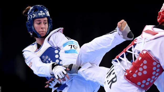 British taekwondo star Bianca Walkden