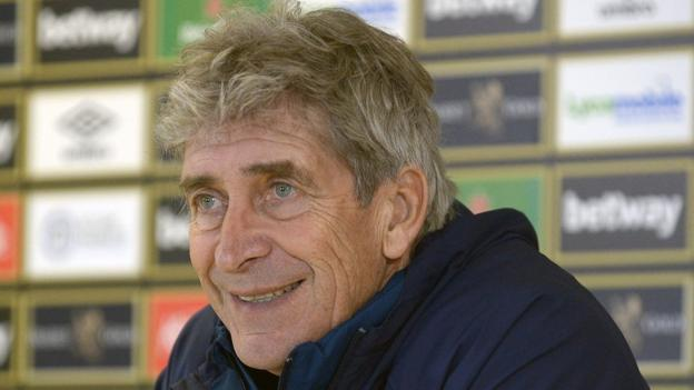 West Ham v Liverpool: Manuel Pellegrini wants to help Man City with win thumbnail