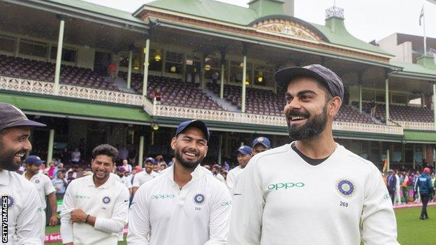 India V Australia Virat Kohli To Miss Three Tests To Be At Child S Birth Bbc Sport