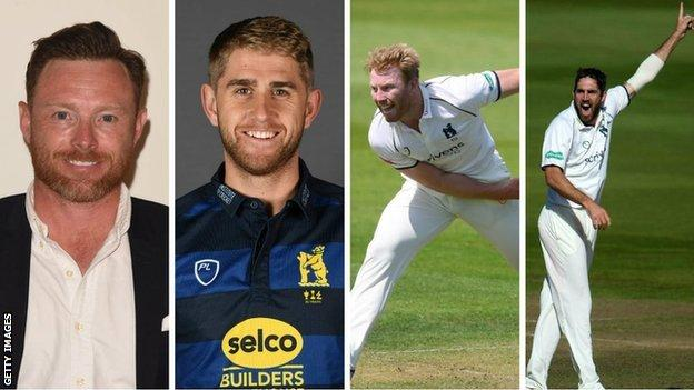 England duo Ian Bell and Olly Stone, Liam Norwell and Ryan Sidebottom are all on course to start 2020 in full fitness