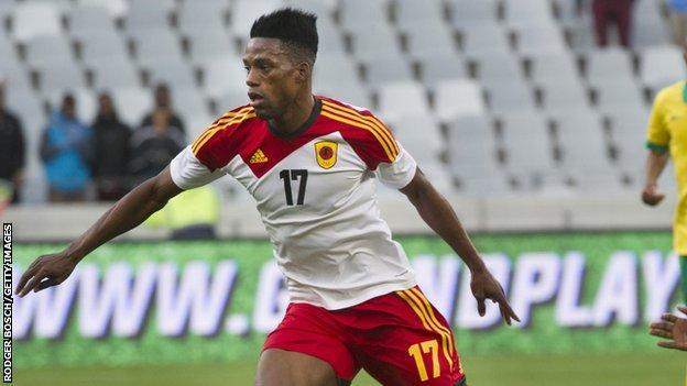 Angola's Manuel Afonso