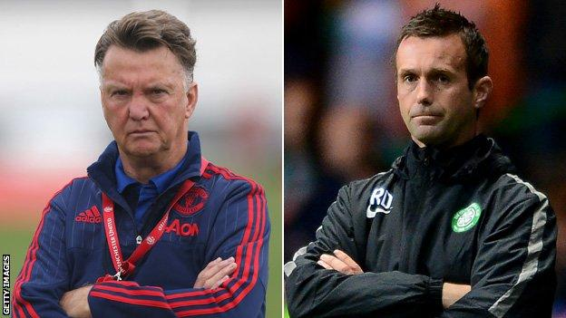 Neither Manchester United nor Celtic featured in the Champions League group stage last season