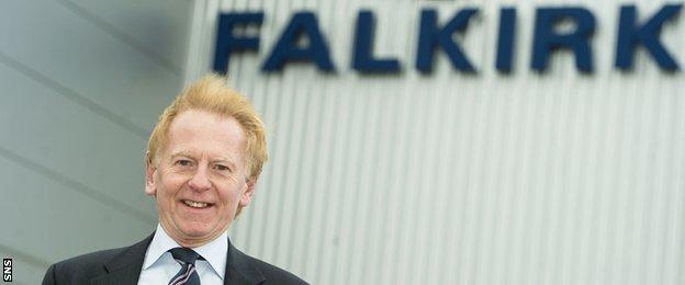 Falkirk chairman Doug Henderson
