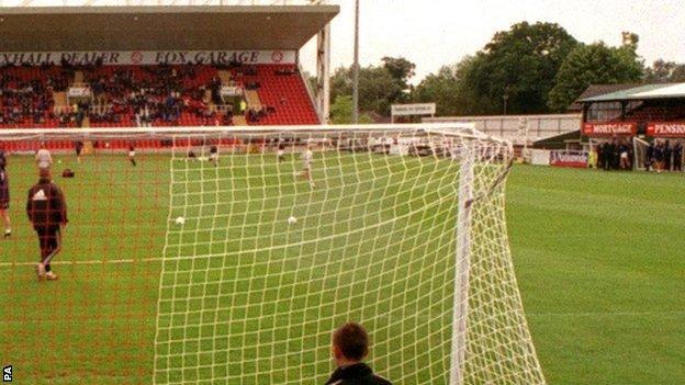 Woking's Kingfield ground