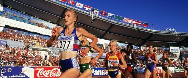 1995 World Athletics Championships at Gothenburg