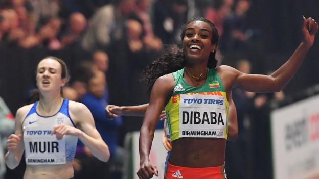 Laura Muir will not speak to Genzebe Dibaba over Ethiopian's links to arrested coach
