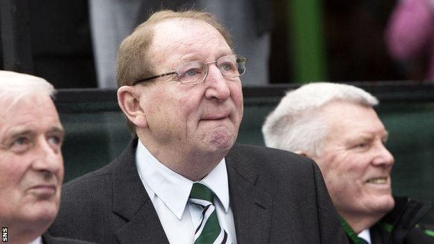 Lisbon Lion Tommy Gemmell (centre) has passed away