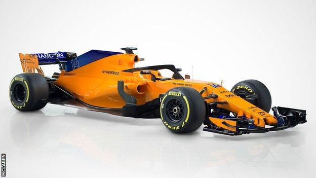 McLaren 2018 car