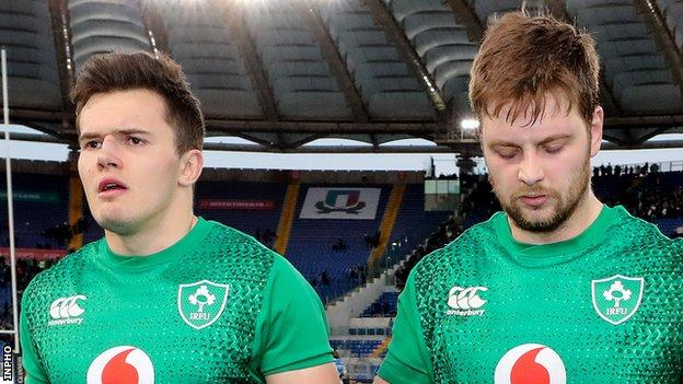 Jacob Stockdale and Iain Henderson return to the Ireland matchday squad after being late withdrawals from the game against Wales