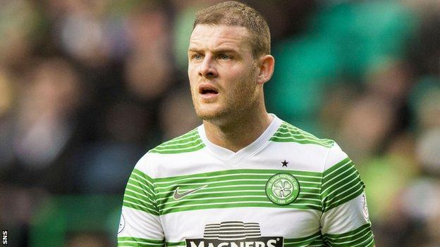 Stokes has made just two appearances in all competitions for Celtic this season
