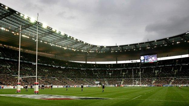 six nations paris attacks prompt tightened stade de france security bbc sport. Black Bedroom Furniture Sets. Home Design Ideas