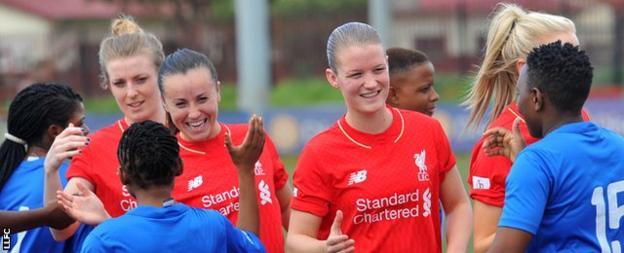 Kate Longhurst (left), Natasha Harding (centre), Mandy Van Den Berg (right)